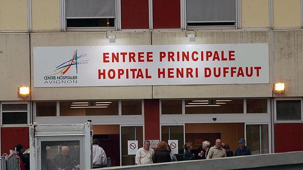 L'hopital Henri Duffaut d'Avignon
