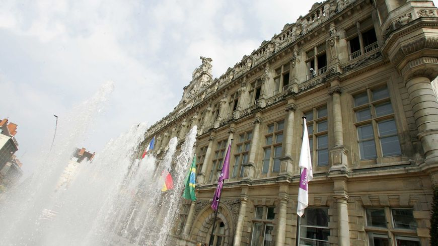 La mairie de Valenciennes