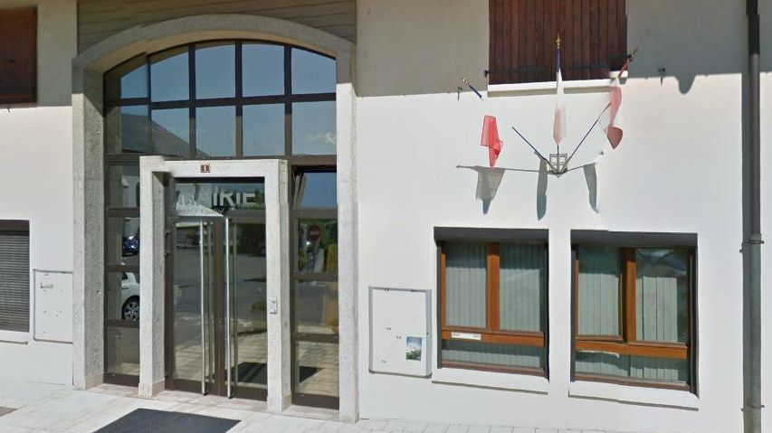 Mairie de Nonglard, en Haute-Savoie