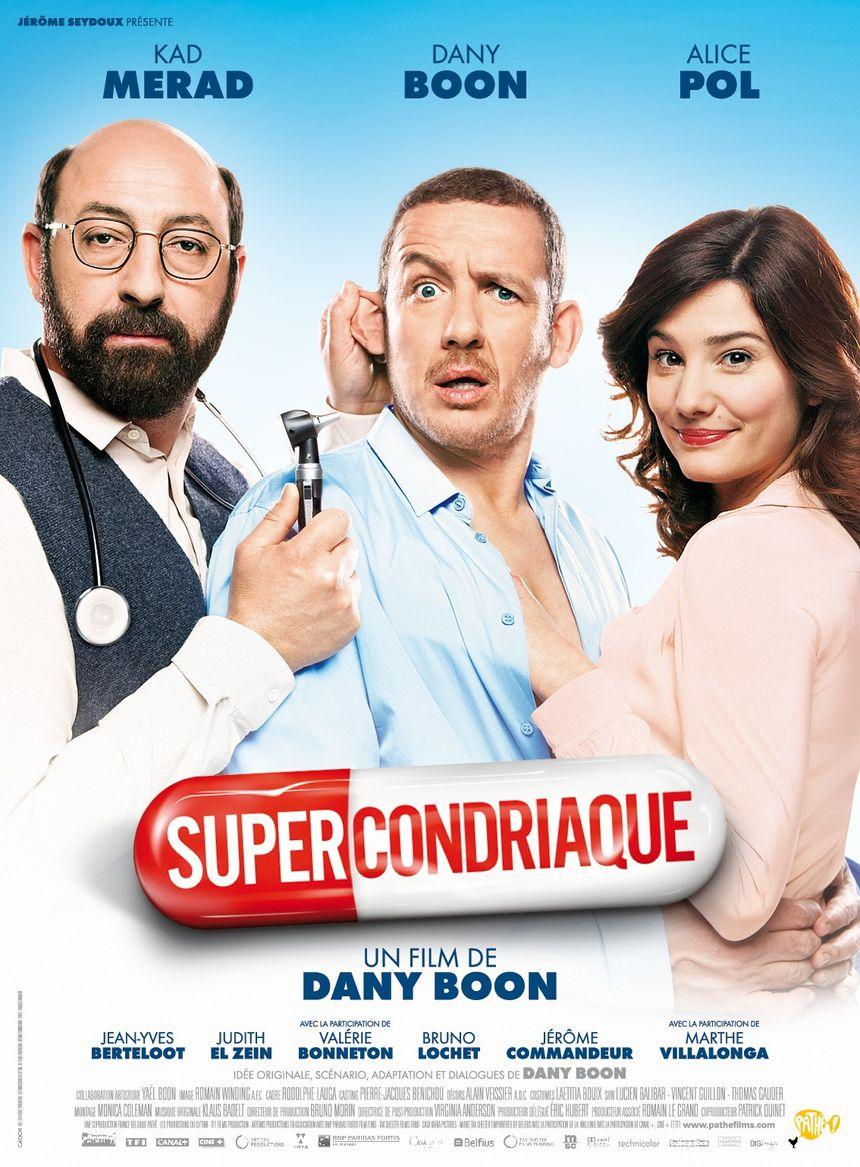 Affiche Film Supercondriaque 2014