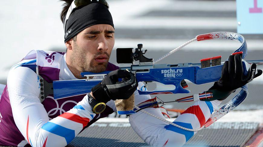 Le favori Martin Fourcade est passé à côté du sprint en biathlon