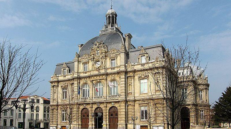 L'hôtel de ville de Tourcoing dans le Nord