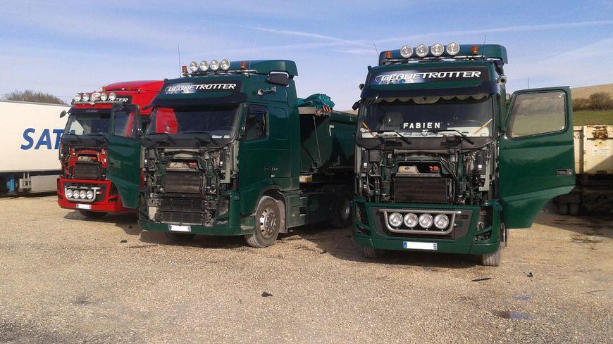 10 camions avaient été désossés à Notre Dame de Sanilhac chez Volvo