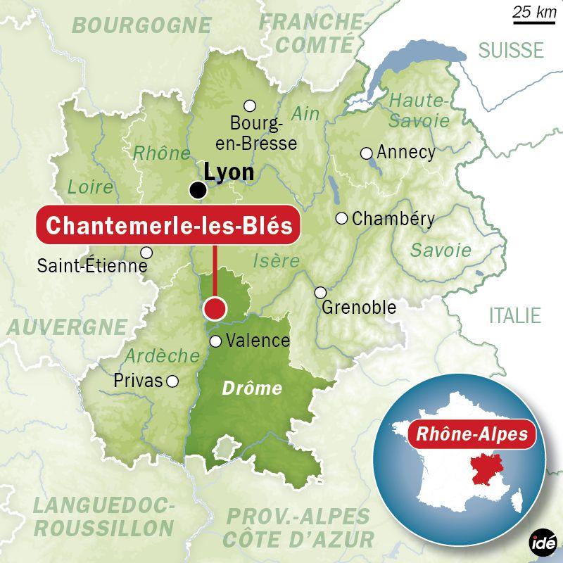Chantemerle les Blès - Radio France