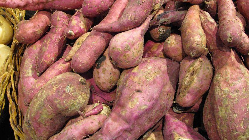 Des patates douces (illustration).