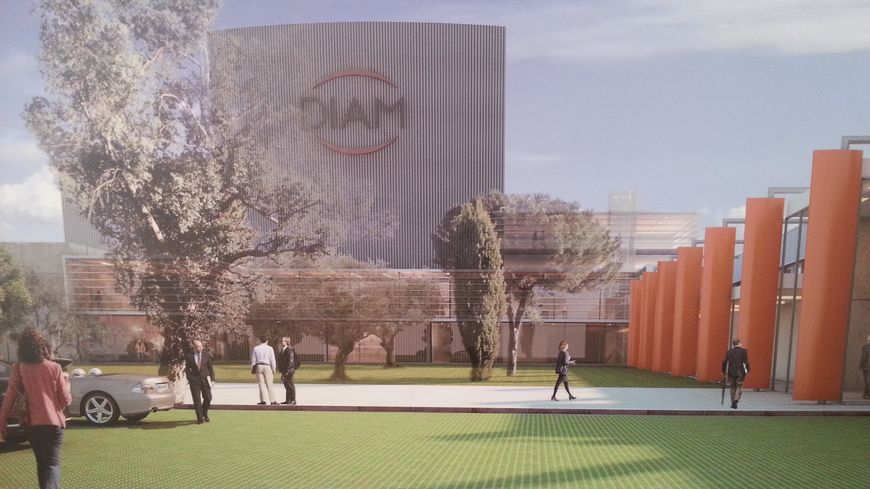 La future usine de DIAM Bouchage à Céret