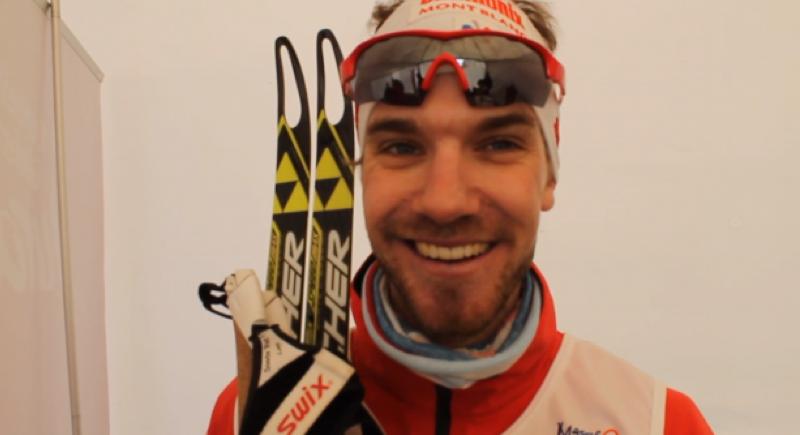 Mathias Wibault, remporte la Transjurassienne 2014, épreuve reine dimanche 9 fév