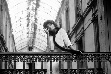 Tournage de Lola dans le passage Pommeraye - Agnès Varda