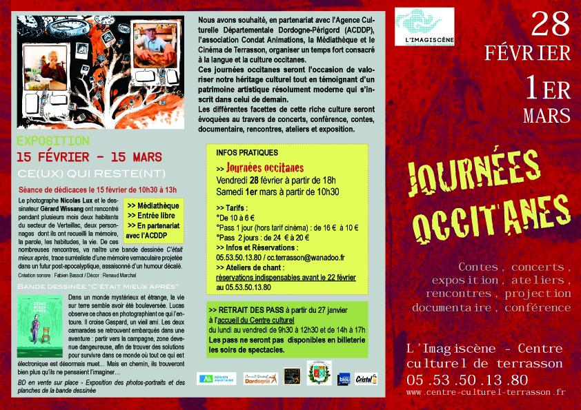 Journées occitanes de Terrasson