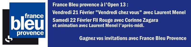 FB Provence à l'Open 13 2014 - Radio France