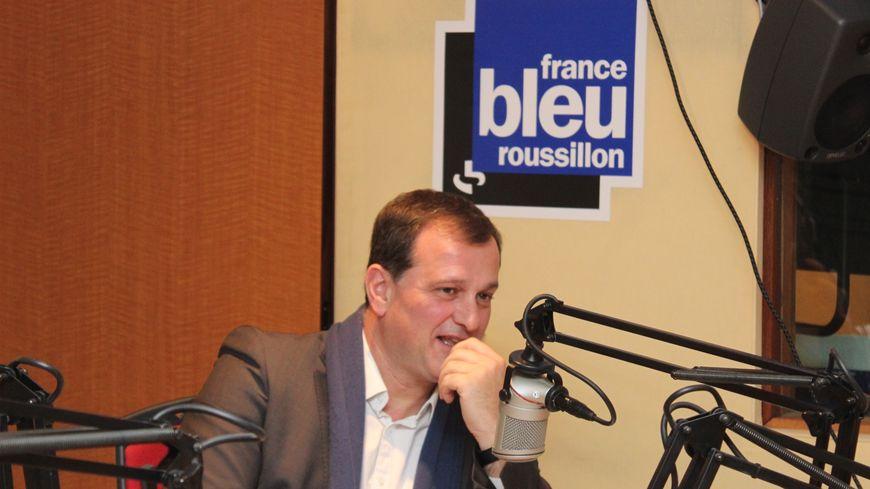 Louis Aliot invité du petit déjeuner sur France Bleu Roussillon