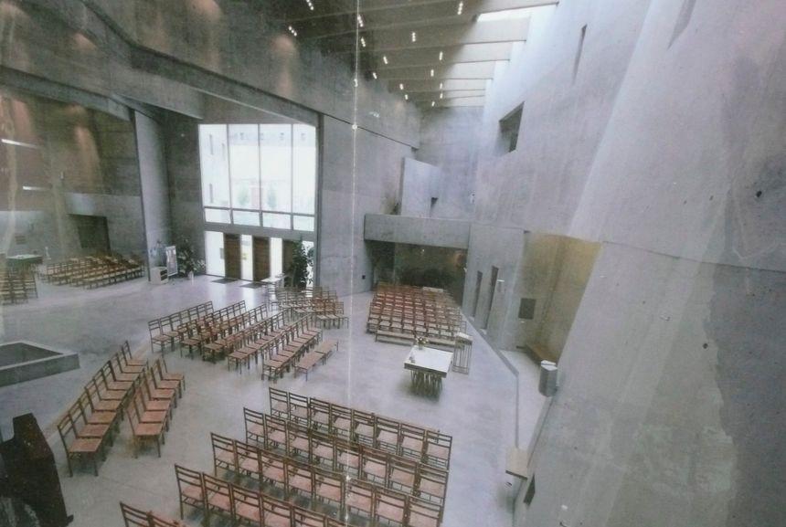 Intérieur de l'église de Rieselfeld - Radio France