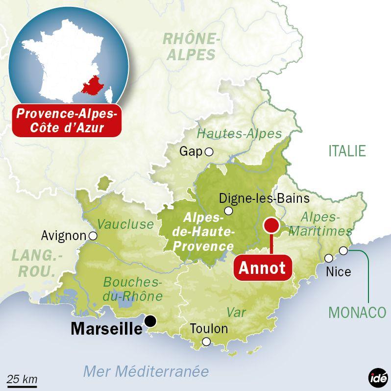Deux morts et de nombreux blessés dans le déraillement d'un train de tourisme entre Saint-Benoît et Annot - IDÉ
