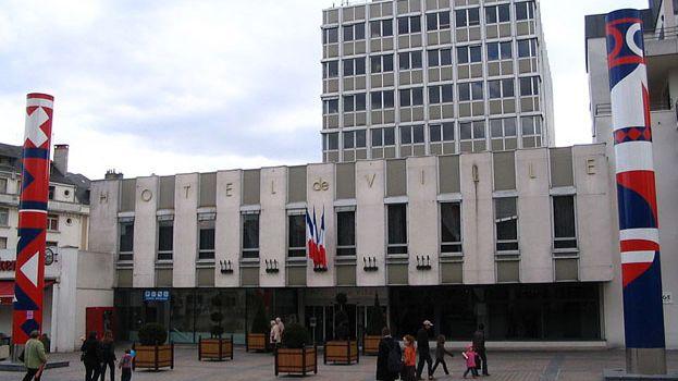 L'hôtel de ville de Châteauroux