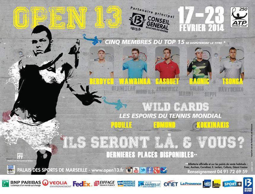 Open 13 2014 - FB Provence - open13.fr