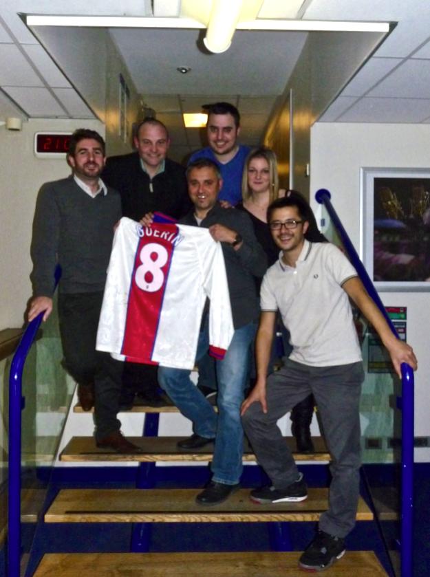 Vincent Guérin, ancien joueur du PSG, invité de Tribune 100% Supporters