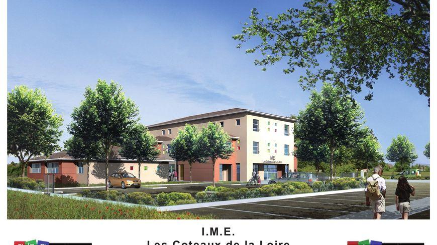 Les plans de l'IME de Saint-André-le-Puy