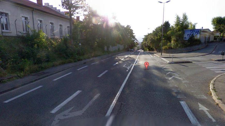 L'avenue de Chabeuil, à Valence