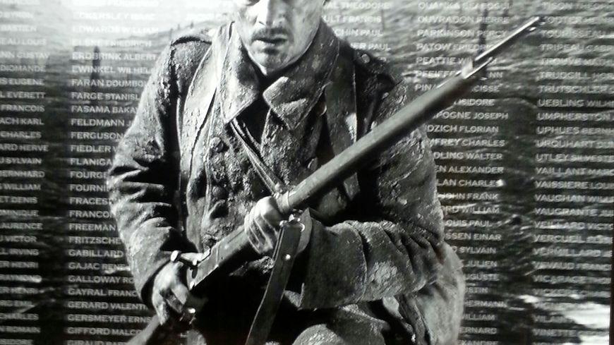 """soldat exposition grande guerre """"De boue et de larmes"""""""