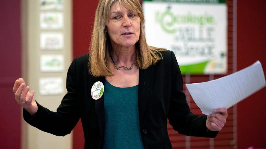 Lise Daleux, tête de liste EELV aux municipales à Lille.