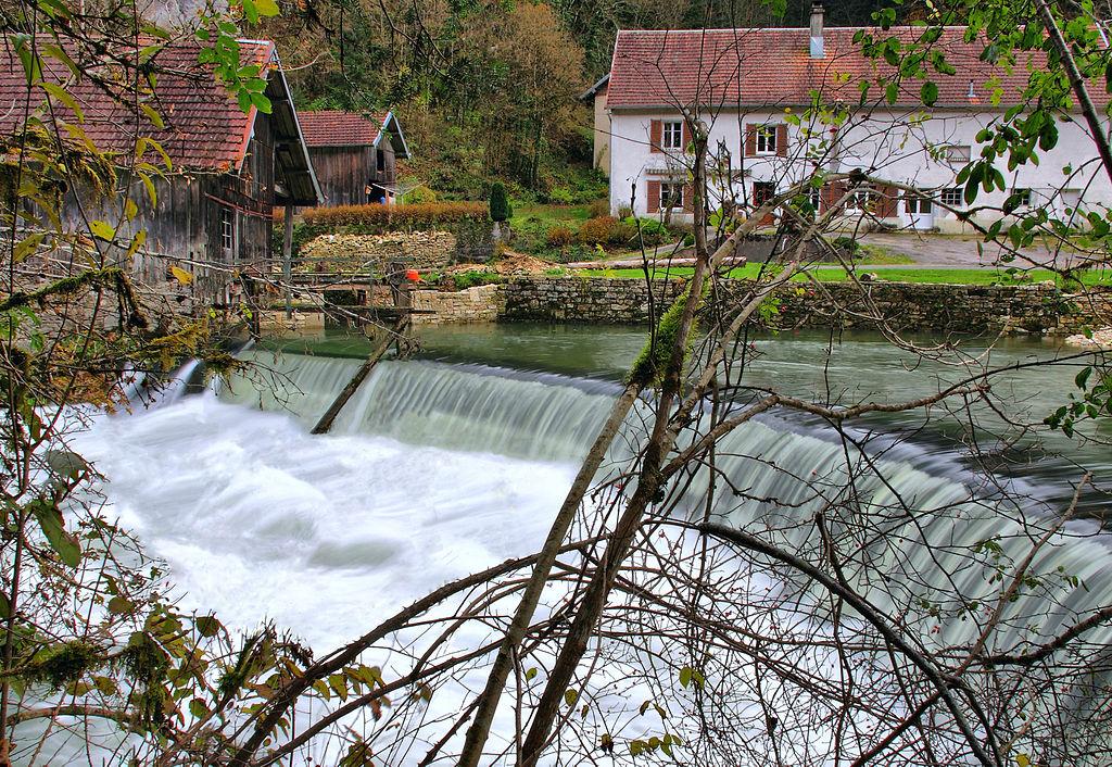 Le Dessoubre, rivière, Doubs