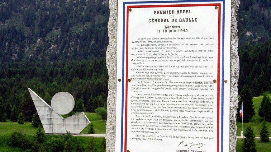 Le plateau des Glières, haut lieu de la résistance en Haute-Savoie durant la seconde guerre mondiale
