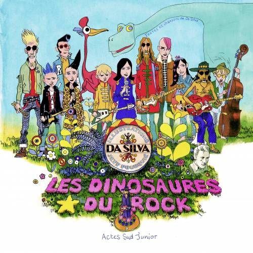 Les Dinosaures du Rock, CD-livre de Da Silva