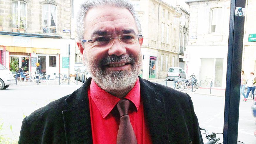 Vincent Maurin, candidat Front de Gauche à Bordeaux.