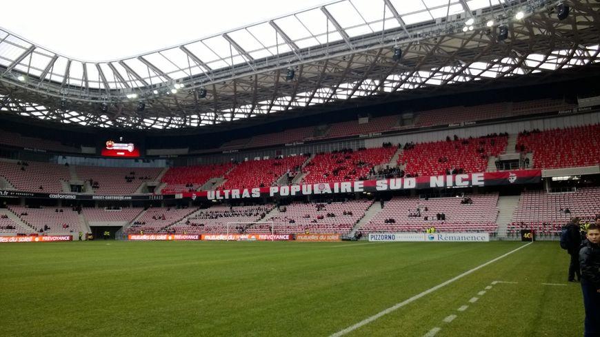 L'Allianz Riviera avant le match.