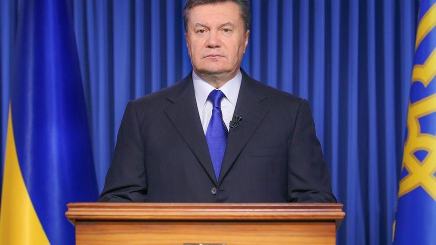 Viktor Ianoukovitch, le président ukrainien destitué