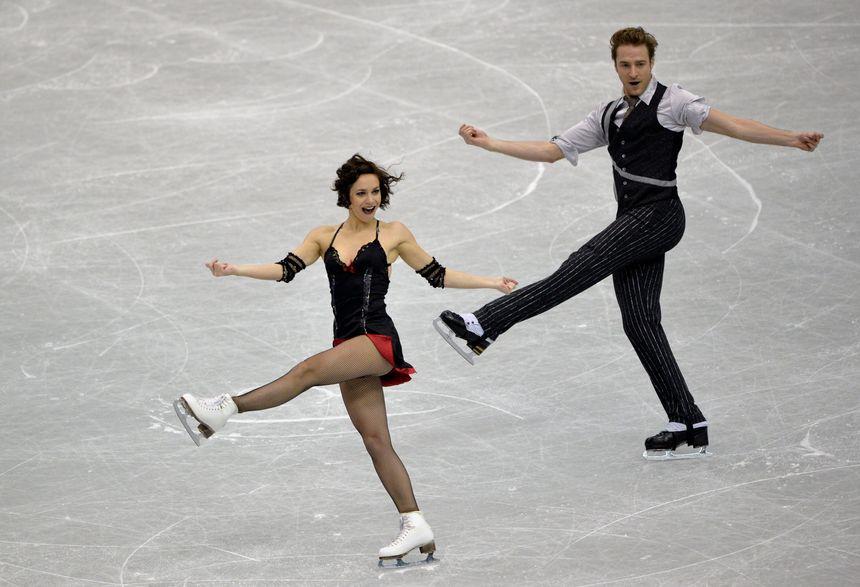 Nathalie Péchalat and Fabian Bourzat, les danseurs sur glace - Maxppp