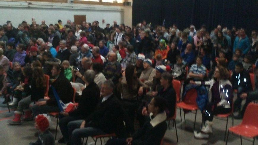 Reportage avec les fans de Jason Lamy Chappuis à Bois d'Amont 2.