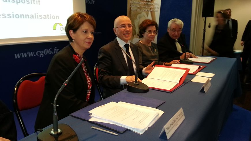 Signature du dispositif relais assistants de vie à Nice
