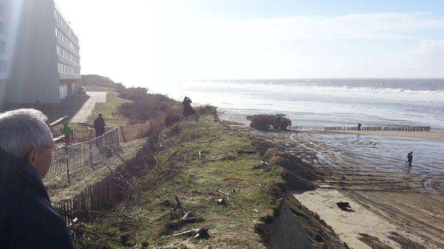 Beaucoup de Girondins sont venus voir l'état de la dune face au Signal