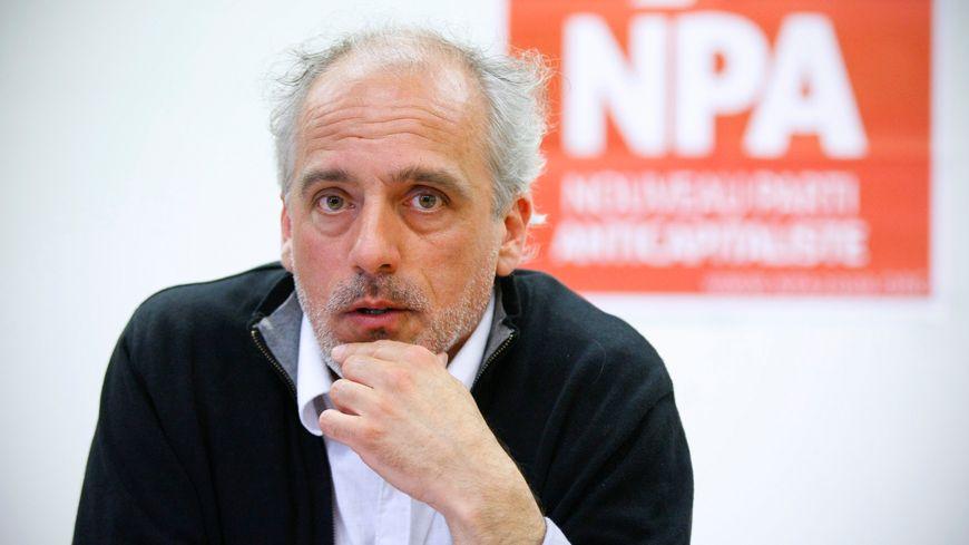 Philippe Poutou candidat NPA aux élections européennes.