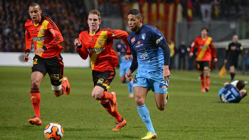 Football Ligue 1 - 24e journée Lens Le Havre 1-1 saison 2013-2014