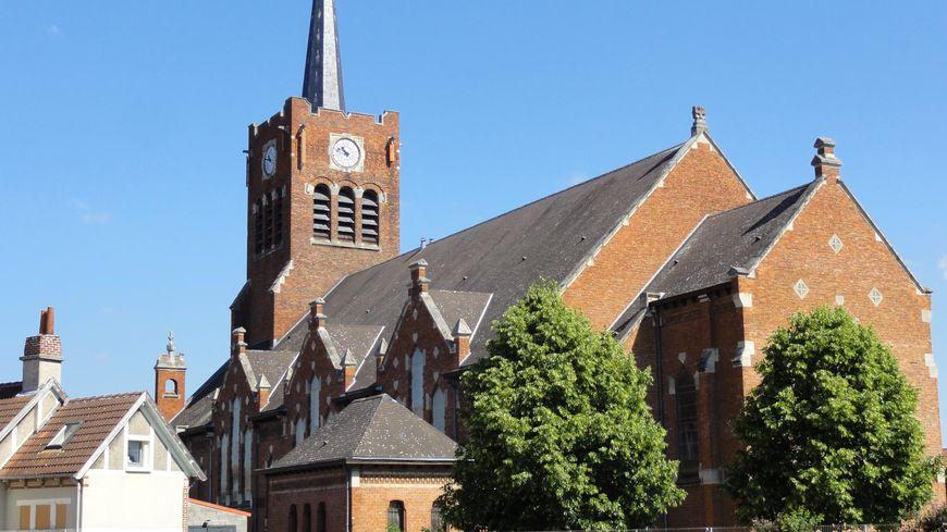 L'église Notre Dame des mineurs à Waziers