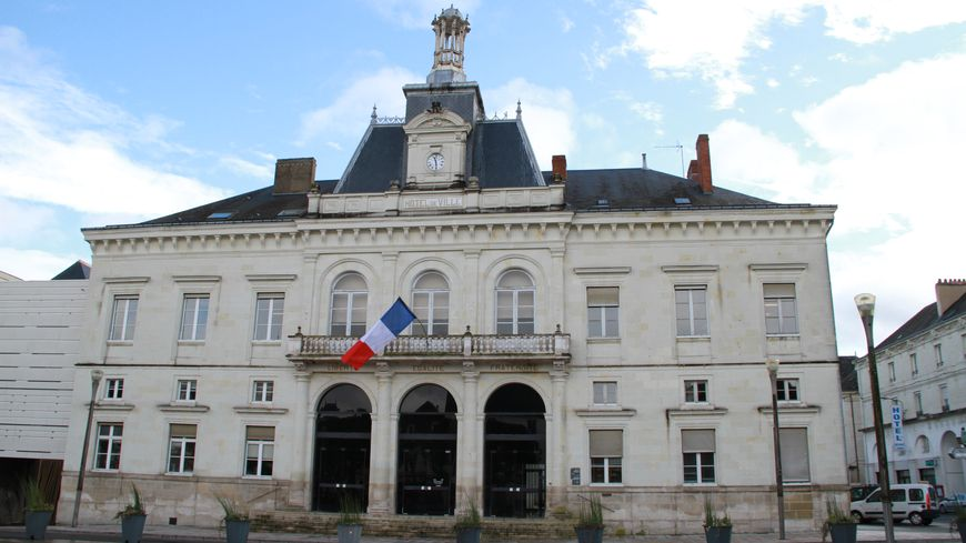 L'hôtel de ville de Châtellerault