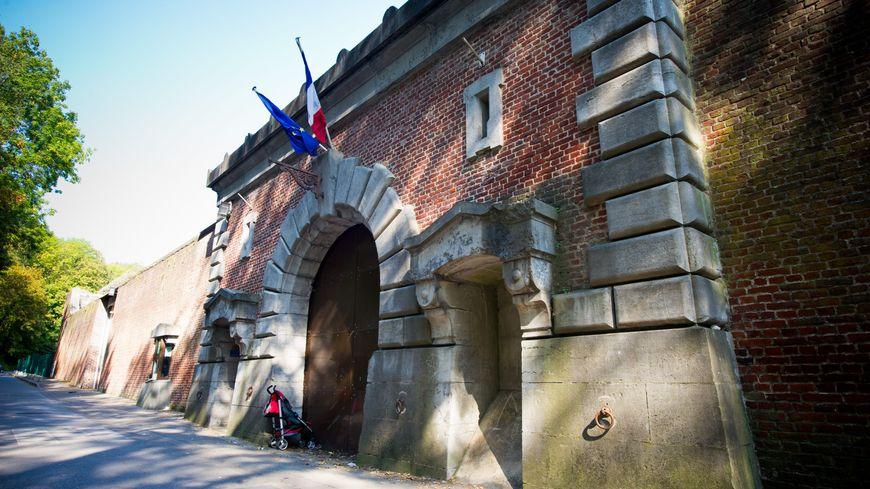 L'entrée de la maison d'arrêt d'Arras dans le Nord