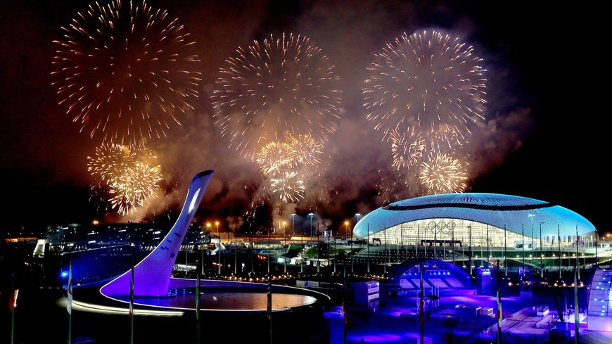 La flamme olympique s'est éteinte après la cérémonie de clôture à Sotchi