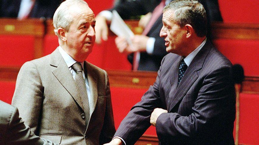 Edouard Balladur et François Léotard