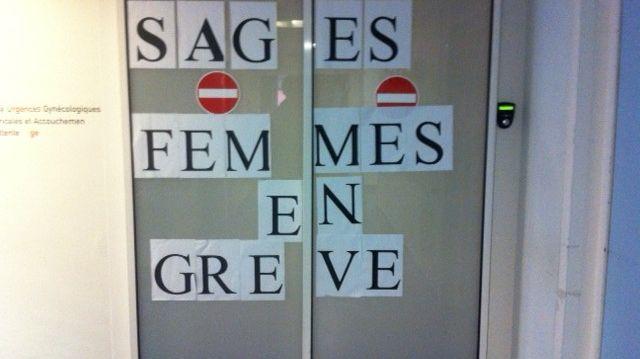 Les sages-femmes du CHU de Saint-Etienne sont toujours en grève