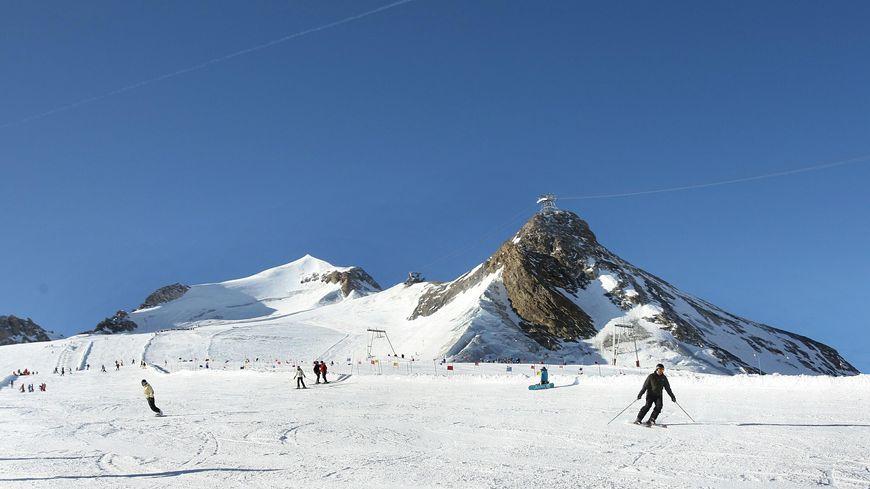 28 janv 2011 - Ski à Tignes la Grande Motte le glacier