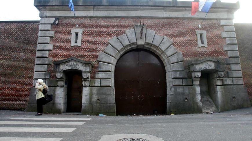 La maison d'arrêt d'Arras dans le Pas-de-Calais
