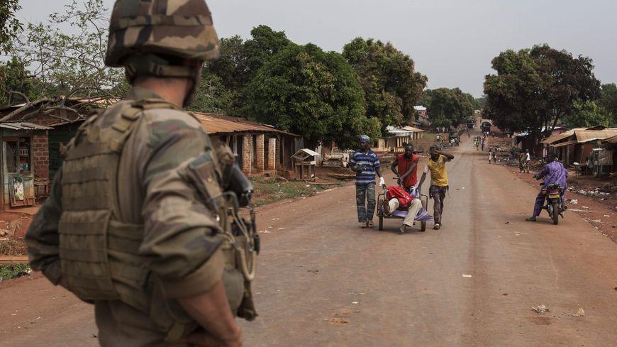 Environ 1.600 soldats français sont déployés en Centrafrique
