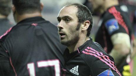 Julien Dupuy, demi de mêlée du Stade Français et invité de Tribune Stade Français