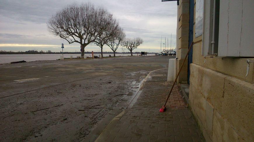Rue du Port à Bourg-sur-Gironde