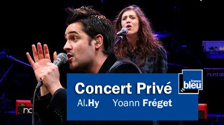Vos concerts privés avec France Bleu