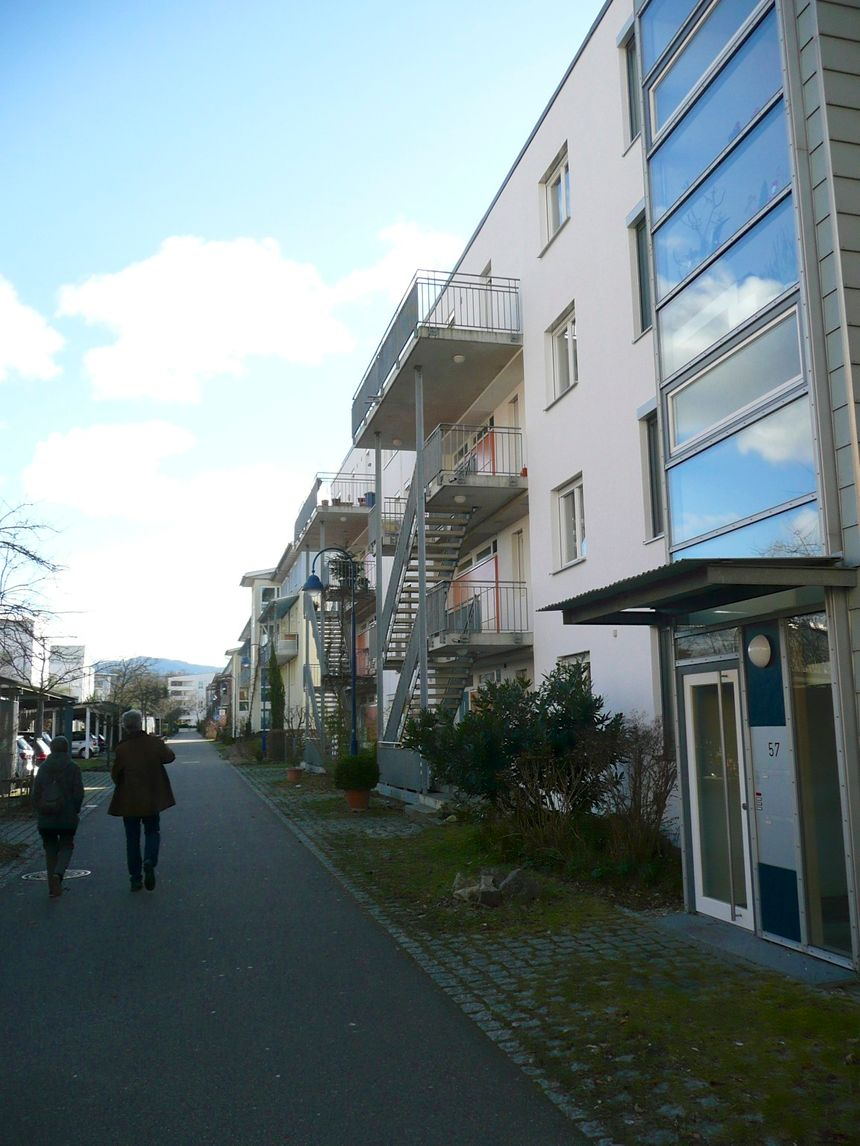 Une rue de Rieselfeld - Radio France