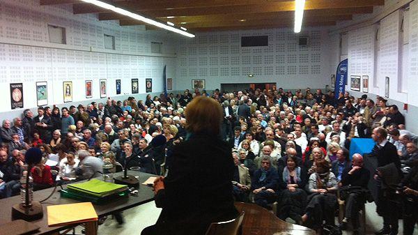 Municipales : le débat des candidats à Vallauris (2)